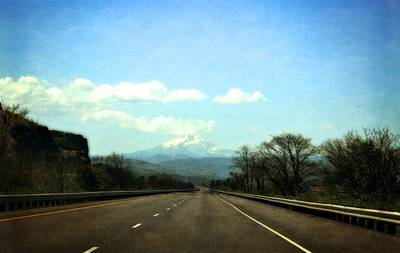 Photograph - On The Road To Mount Hood by Michelle Calkins