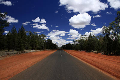 Photograph - On The Road To Nindigully by Noel Elliot