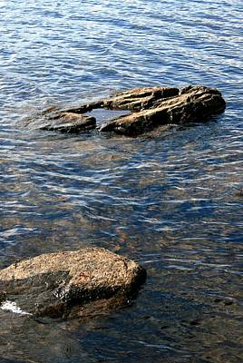 Photograph - On The Rocks # 2 by Jeanette Rode Dybdahl
