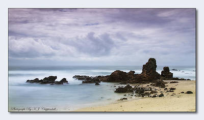 Port Macquarie Photograph - On The Rocks 01 by Kevin Chippindall