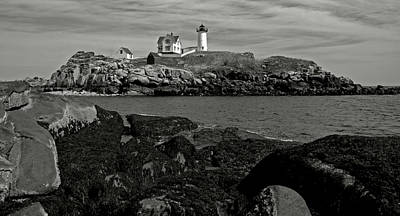 Photograph - On The Rocks In Maine by Caroline Stella