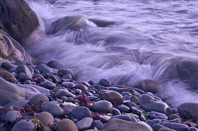 Waves Photograph - On The Rocks by Priya Ghose