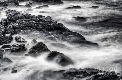 Winter Storm Photograph - On The Rocks by Scott Thorp