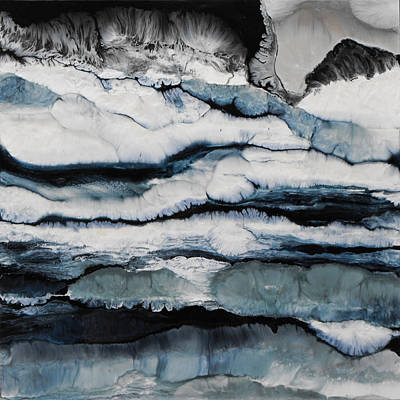 Painting - On The Rocks Sold by Lia Melia
