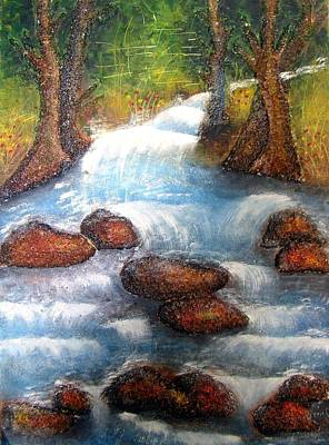 Painting - On The Rocks by Tanya Anurag