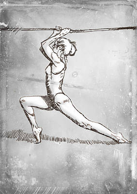 On The Rope Art Print