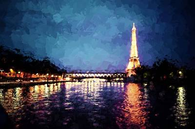 Photograph - On The Seine by Bill Howard