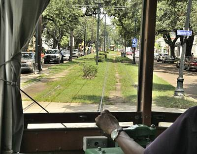 Photograph - On The St Charles Avenue Line by Bradford Martin