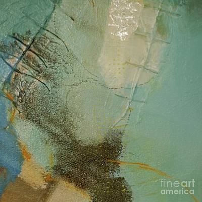 Beige Glass Mixed Media - On The Surface by Lisa Schafer
