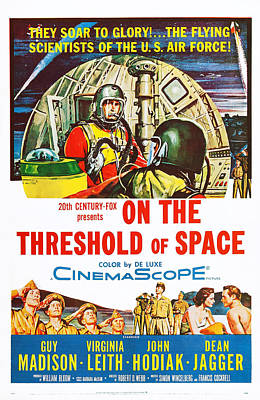 On The Threshold Of Space, Us Poster Art Print by Everett