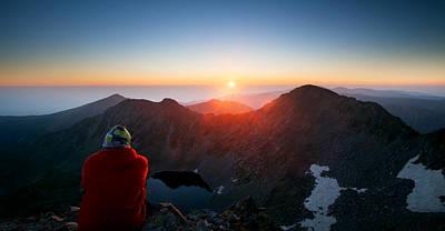Photograph - On The Top  by Svetoslav Sokolov