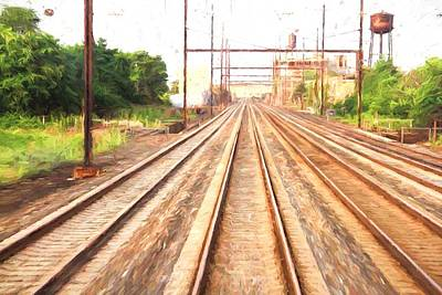 Photograph - On The Tracks by Alice Gipson