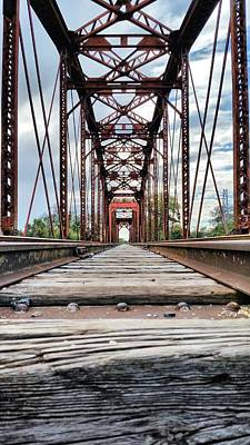 Photograph - On The Tracks by JC Findley