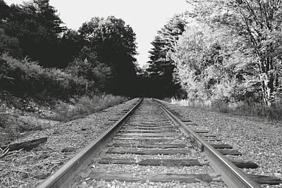 Photograph - On The Tracks  by Neal Eslinger