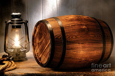 Wine Barrel Photograph - On The Waterfront by Olivier Le Queinec