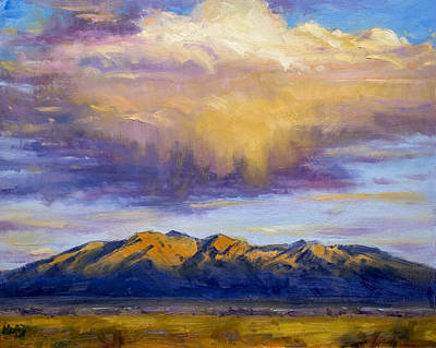 Painting - On The Way Home by Bill Inman