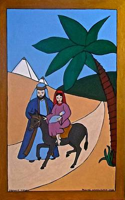 Painting - On The Way To Bethlehem by Stephanie Moore