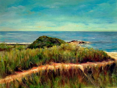 Painting - On The Way To Napatree by Anne Barberi