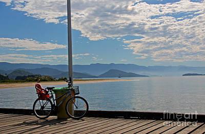 Photograph - On The Wharf At Paraty  Brazil by Nareeta Martin
