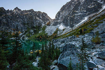 Enchantment Photograph - On To Aasgard Pass by Mike Reid