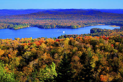 Fir Trees Photograph - On Top Of Bald Mountain by David Patterson