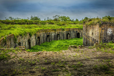 Photograph - On Top Of Fort Macomb by David Morefield