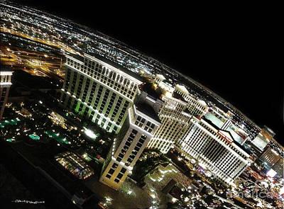 On Top Of Las Vegas Art Print