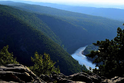 Wall Art - Photograph - View From Top Of Mt Tammany by James Chesnick
