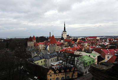Photograph - On Top Of Tallinn by Randi Grace Nilsberg