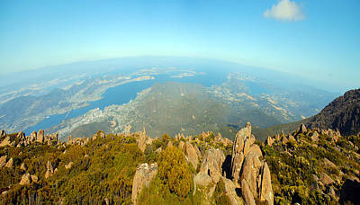 Photograph - On Top Of The World Tasmania by Glen Johnson