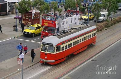 Tour Bus San Francisco Photograph - On Tour by Jah Mackey