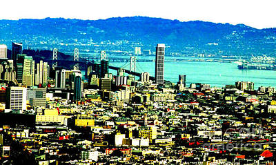Photograph - On Twin Peaks Over Looking The City By The Bay II by Jim Fitzpatrick
