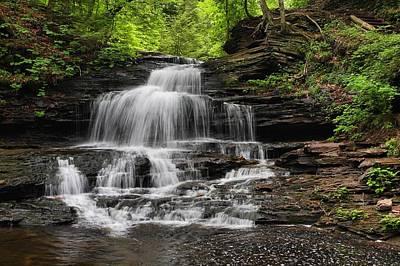 Photograph - Onandaga Falls by Mike Farslow
