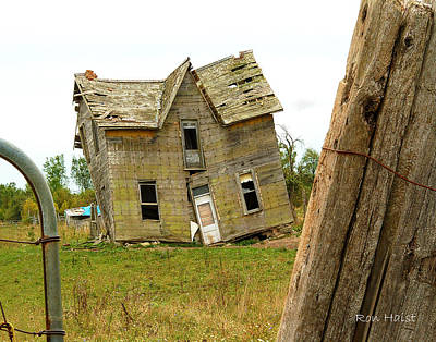 Photograph - Once A Home by Ron Haist