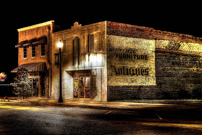 Photograph - Once Again Antiques by David Morefield