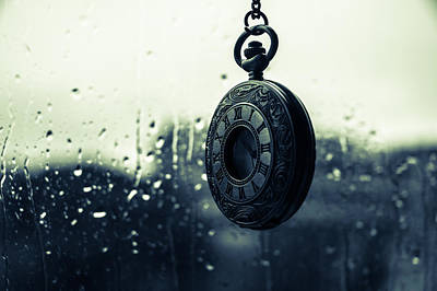 Photograph - Once - A Vintage Watch by Andrea Mazzocchetti