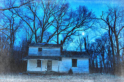 Photograph - Once In A Blue Moon by Emily Stauring