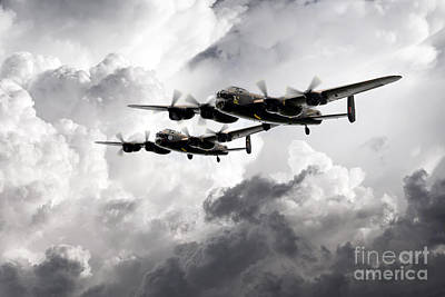 Canadian Heritage Digital Art - Once In A Lanc Time by J Biggadike