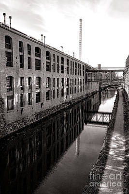 Canal Walk Photograph - Once Industrial Georgetown by Olivier Le Queinec