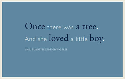 Once There Was A Tree... Print by Tania L