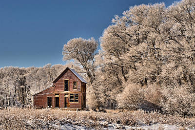 Photograph - Once Upon A Home by Eric Rundle