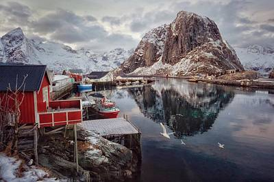 Norway Wall Art - Photograph - Once Upon A Time In The Arctic by Vincent Croce