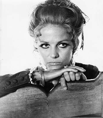 Sergio Leone Photograph - Once Upon A Time In The West, Claudia by Everett