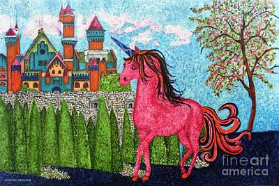 Once Upon A Time Print by Margaret Newcomb