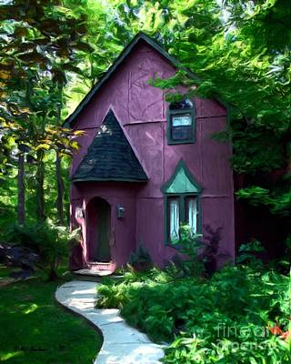 Fairy Doors Photograph - Once Upon A Time by Mel Steinhauer