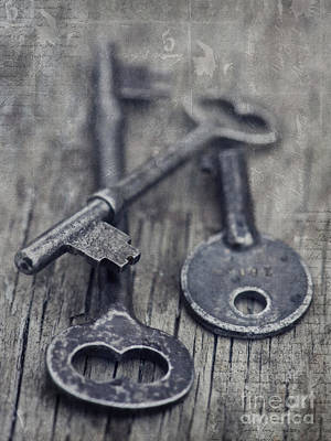 Key Photograph - Once Upon A Time There Was A Lock by Priska Wettstein