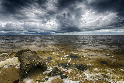 Photograph - Oncoming Storm by Alan Raasch
