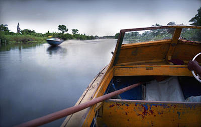 Ondo Riverine Highway Art Print