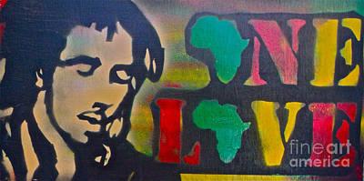 First Amendment Painting - One Bob by Tony B Conscious