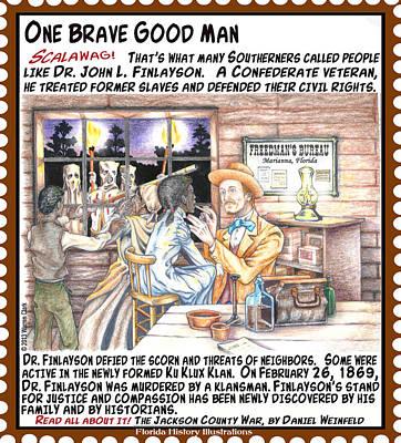 One Brave Good Man Art Print by Warren Clark